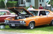 Blessing of the Oldies Car Show