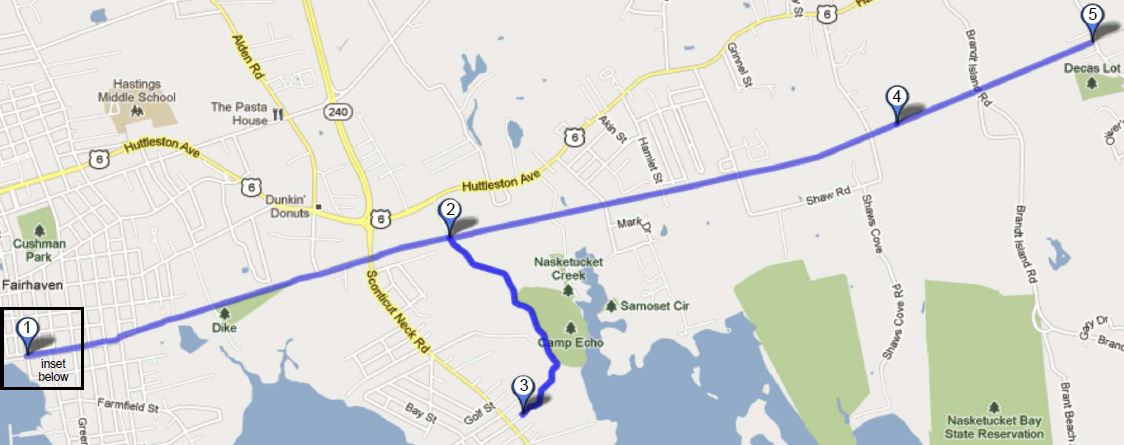 phoenix bike trail map fairhaven ma