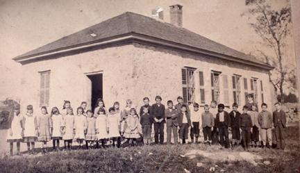 Stone School Exterior