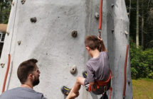 Monday Morning Fun: Rock Climbing Tower